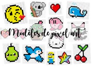 Dessin Pixel Art Facile Manga